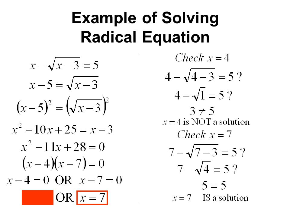 ufe0f radical equations and problem solving  solving radical equations and inequalities  2019