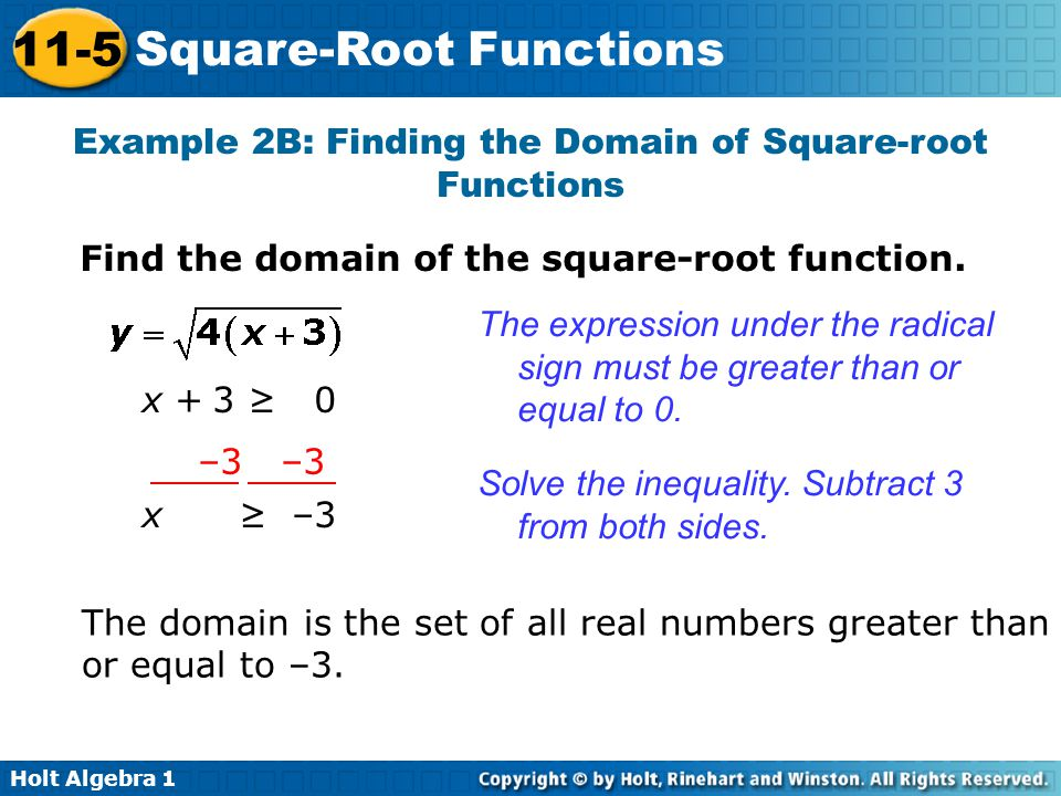 Square Root Function Examples Download Справо�...