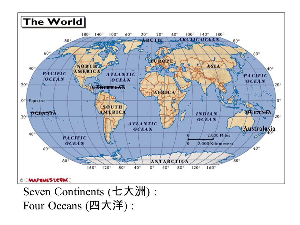 Longitudes latitudes ppt download seven continents four oceans gumiabroncs Choice Image