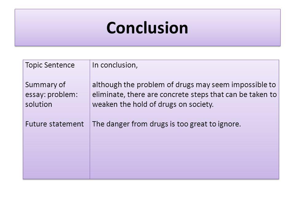 conclusion essay problem solution essay part ppt video online