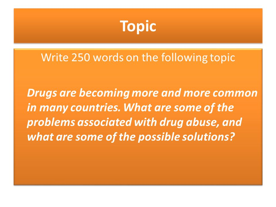 drug abuse problems and solutions essay 25 problem-solution essay topics to help this is one of the best problem-solution essay topics for college drug abuse and other vices to support their stay.