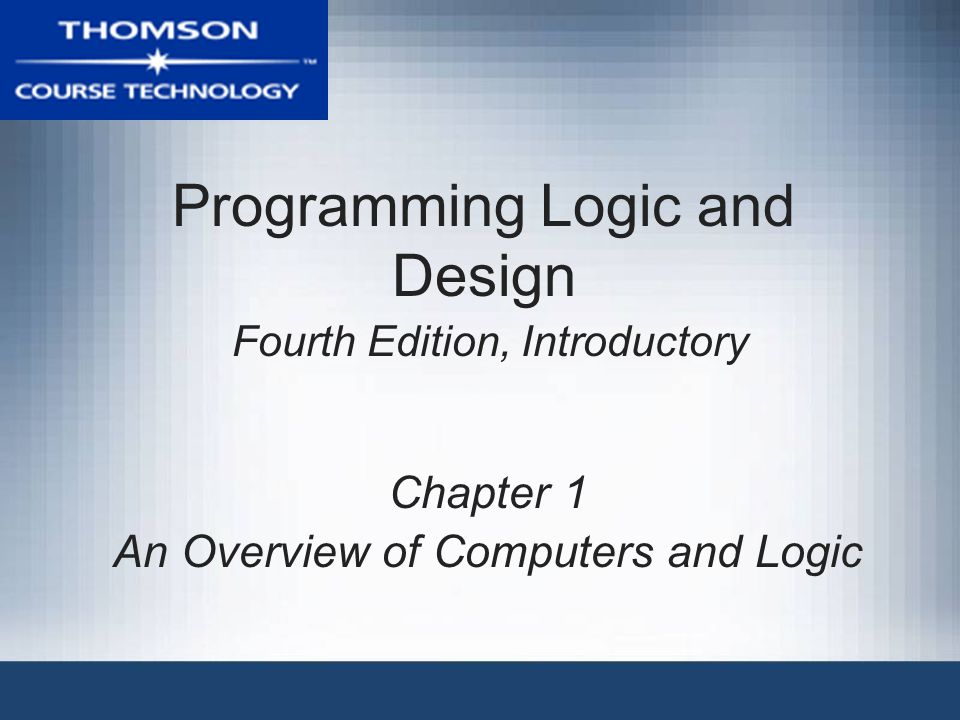 how to understand programming logic