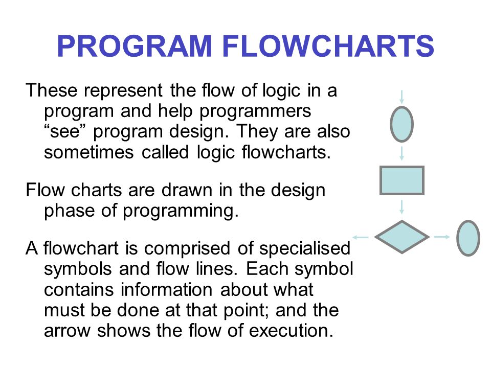 PROGRAM FLOWCHARTS