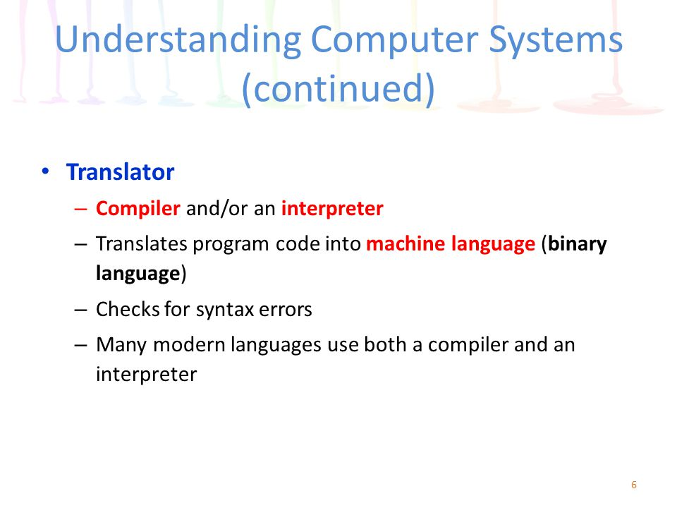 an overview of a compiler