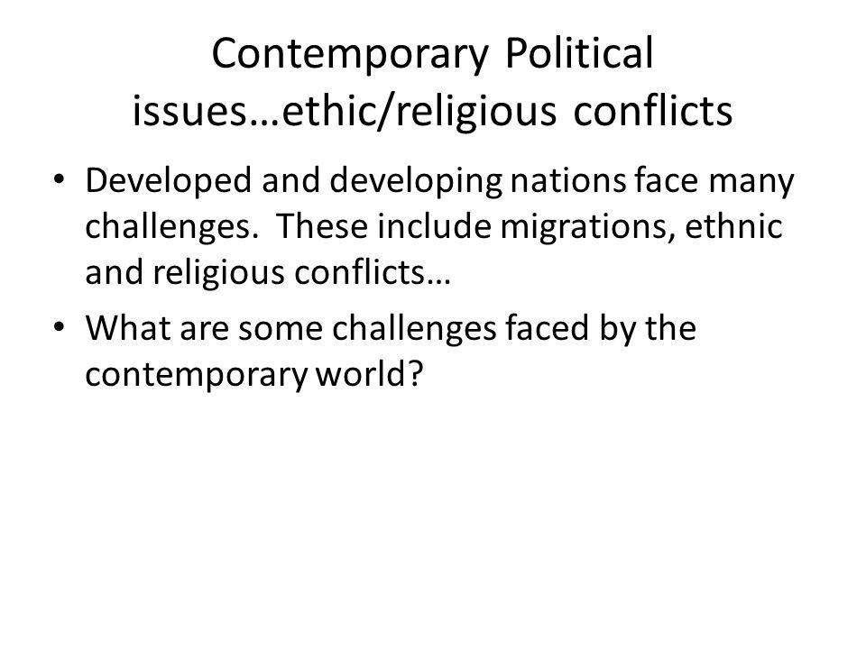 impact of religion on contemporary politics essay Essay on sociology of religion  the significant impact of religion on voting and on  that characterizes contemporary forms of religion and spirituality.