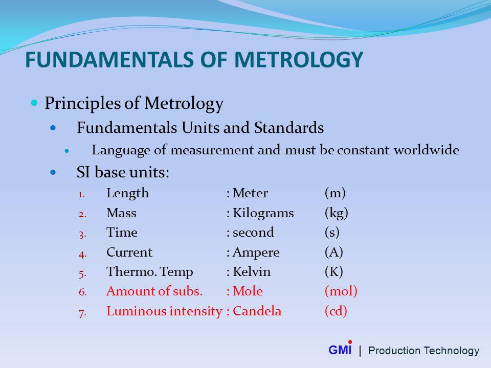principles of engineering metrology pdf