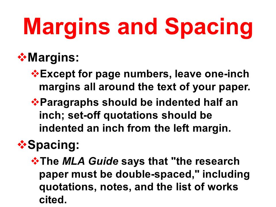 default margins research paper Word's default margins are 1 inch, which is standard for apa double-spacing 1  make sure you are on the home tab, and click to open the paragraph box 2.