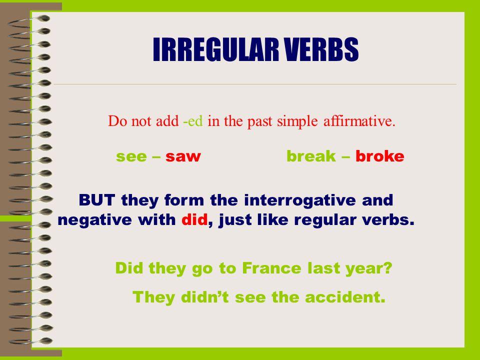 deal irregular verb