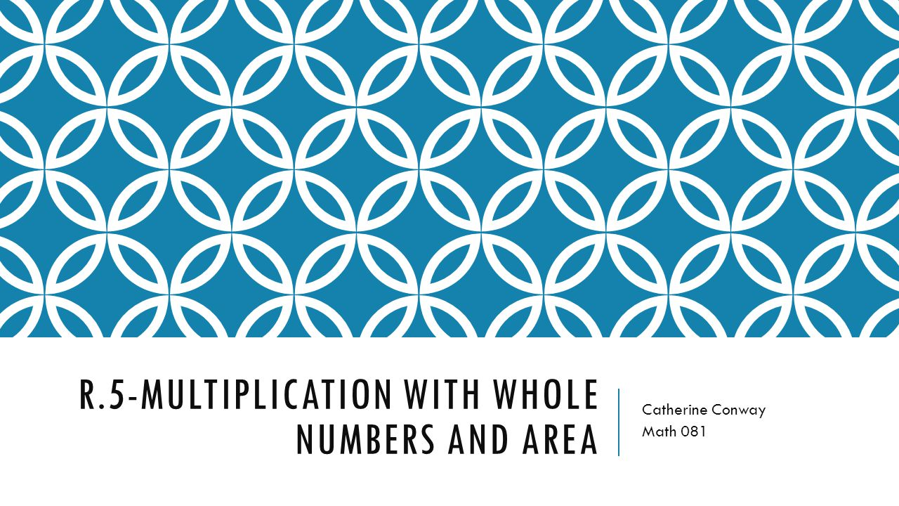 R.5-Multiplication with whole numbers and area - ppt video online ...