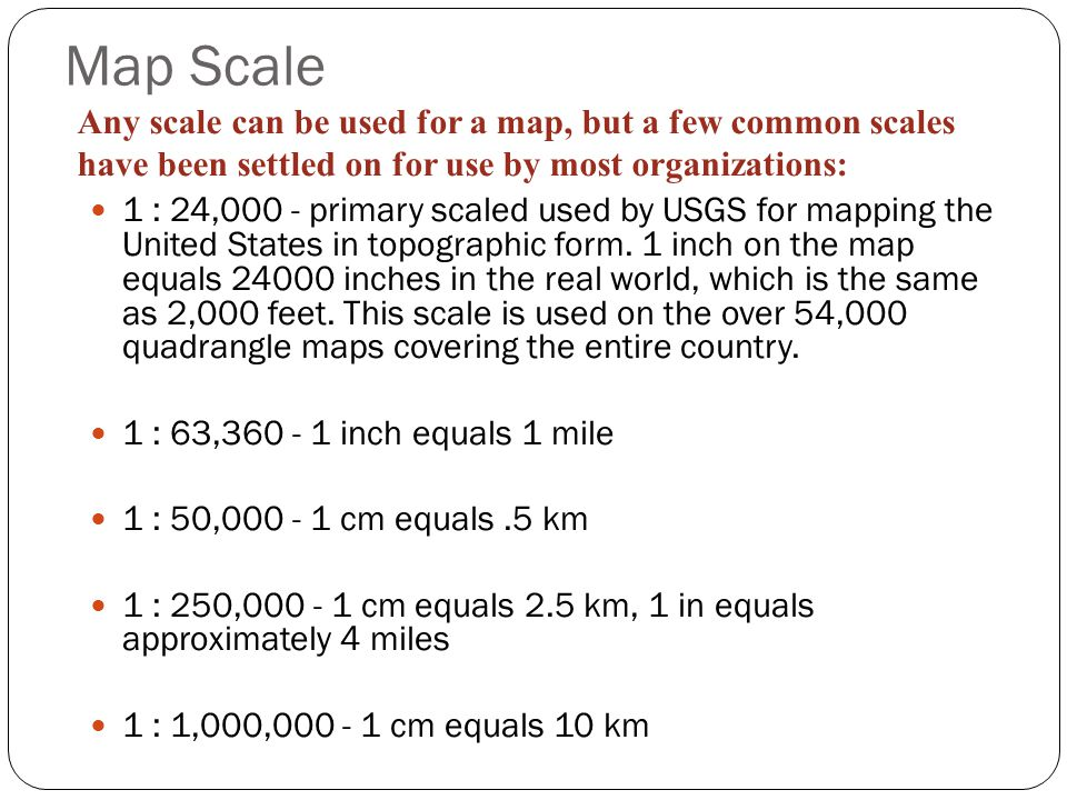 Scaling Ppt Video Online Download - Us map with km scale
