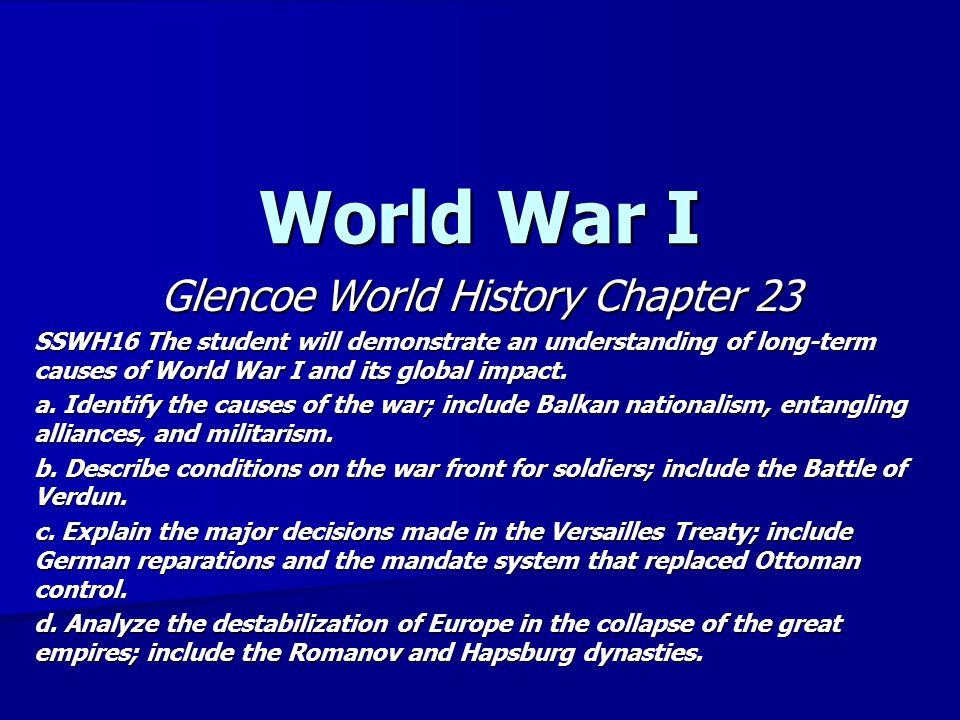 Glencoe World History Chapter 23