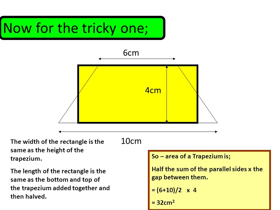 how to find the height in a trapezium