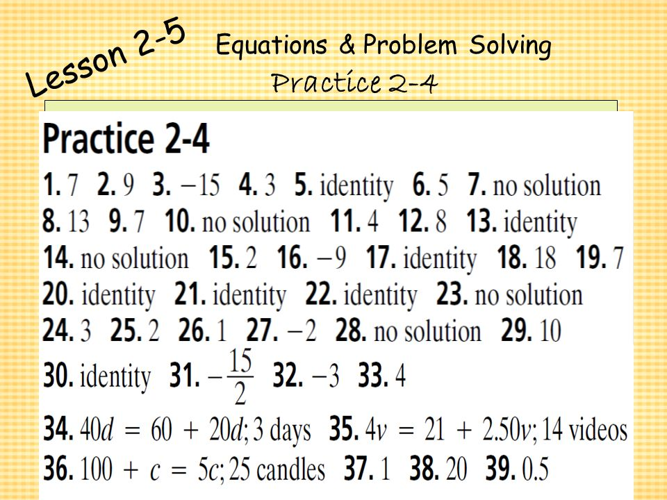 how to solve algebraic equations with 2 variables
