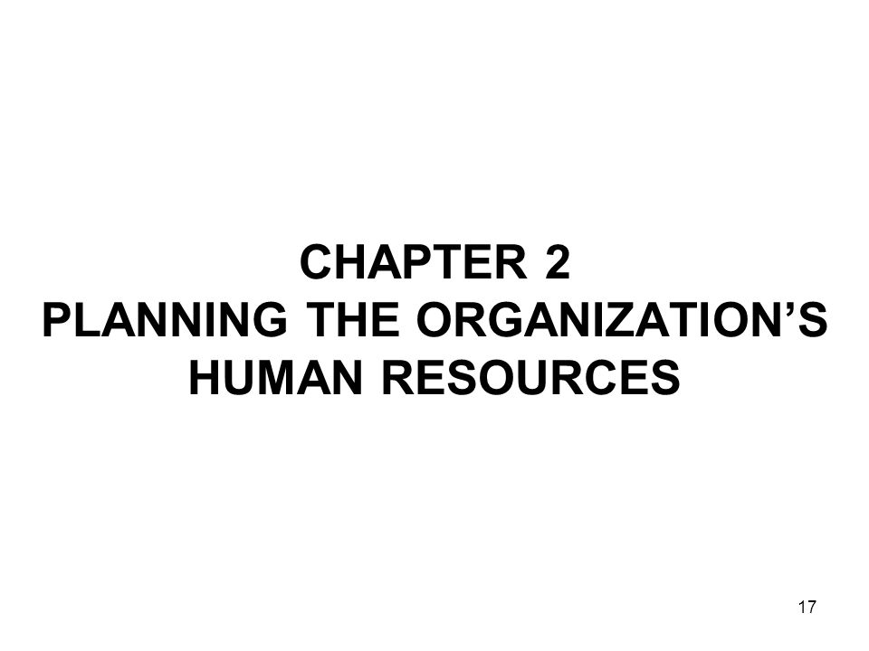 Chapter 2 organizing and managing