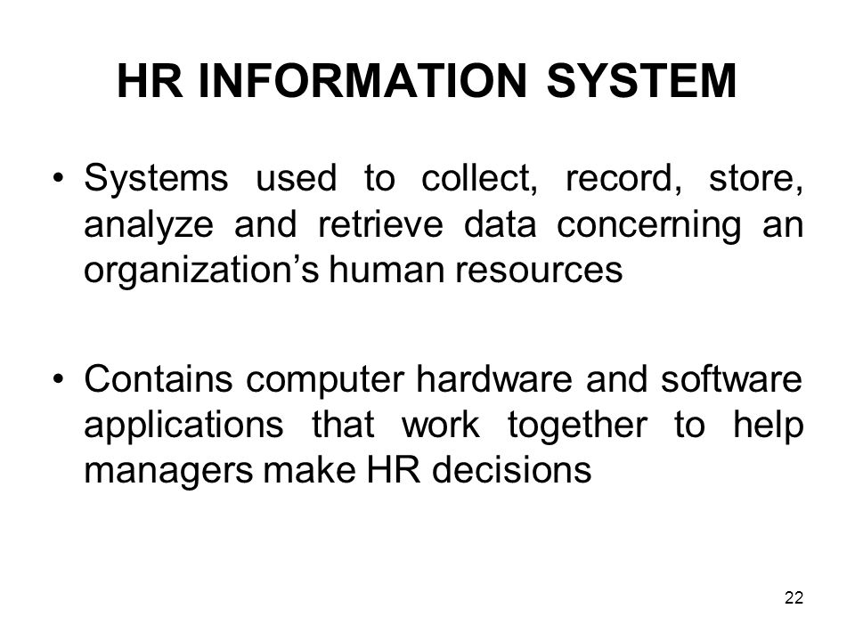 Data Collection in HR