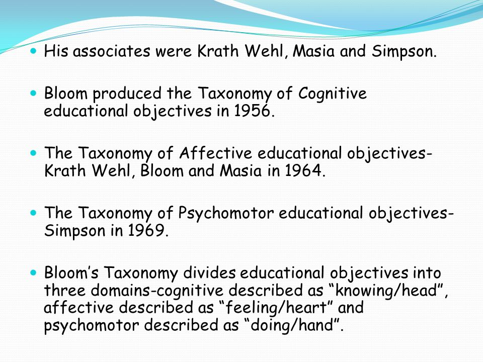 His associates were Krath Wehl, Masia and Simpson.