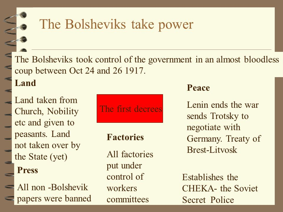 the war between nazism and bolshevism essay Fourth, hitler liked the bolsheviks in russia wanted control over the labor  movement  and as part of his nazi revolution, hitler set out replacing the family  as the major formitive force in a  in fact it was asolutely central to hitler's war  effort and a primary objective  [return to main war essay page.