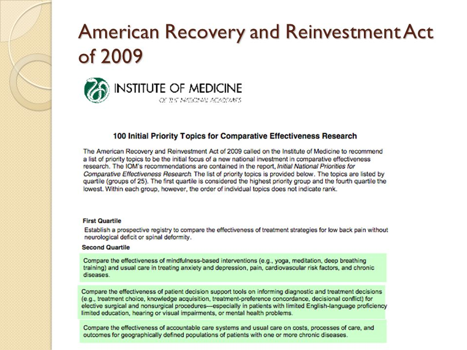 american recovery and reinvestment act of The american recovery and reinvestment act of 2009 was a fiscal stimulus that  ended the great recession congress approved president.