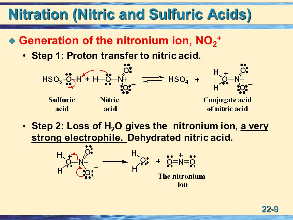 nitration of benzene mechanism pdf
