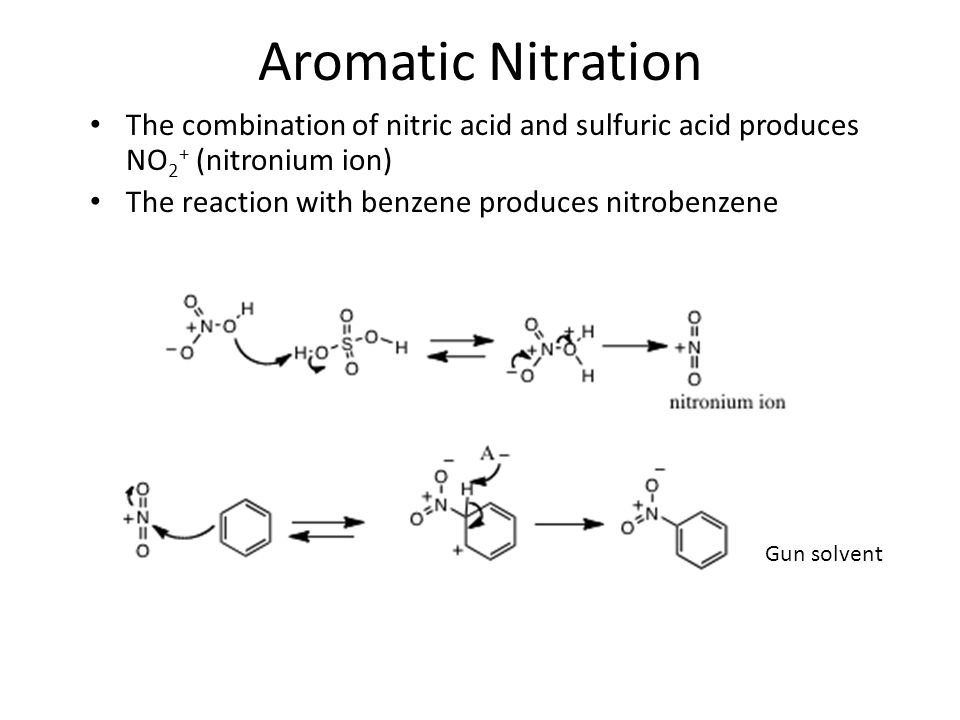 how to make nitric acid with sulfuric acid