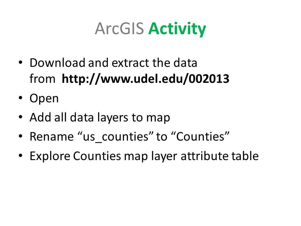 GIS In A Nutshell With ArcGIS Ppt Download - Map layers for us arcgis