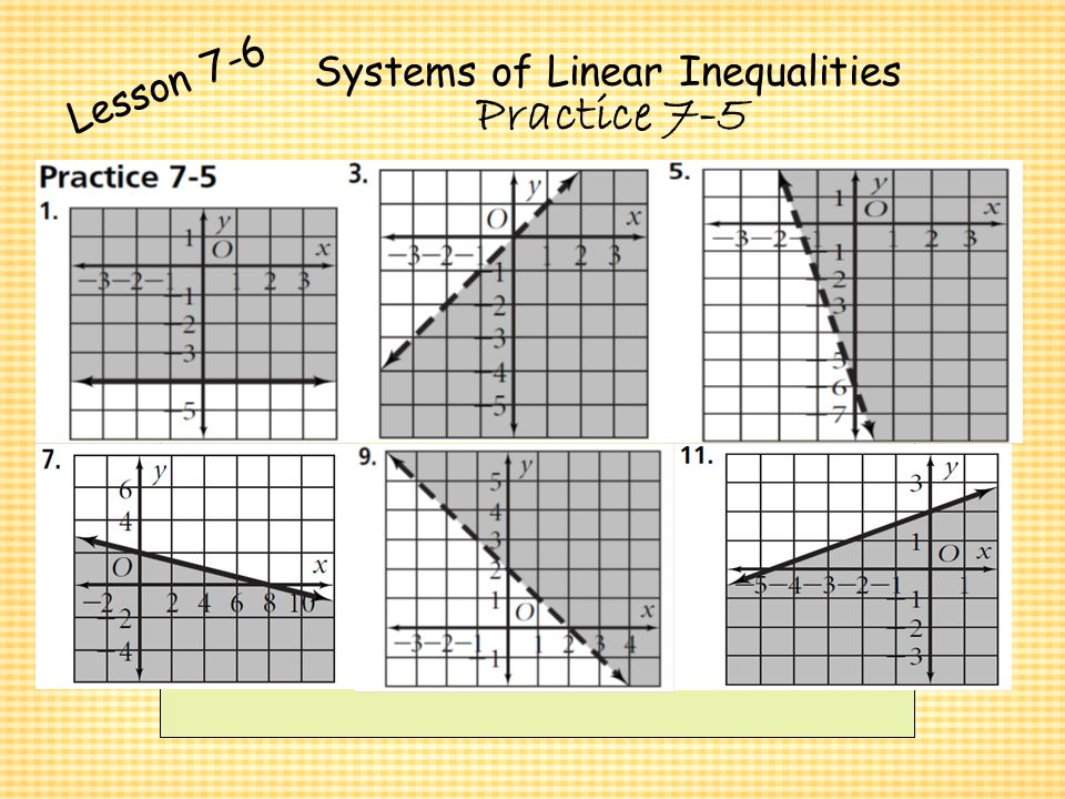 Systems Of Equations Inequalities Ppt Video Online Download