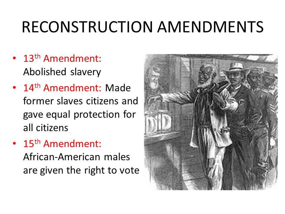 failed amendment protecting slavery essay Faculty working papers 2010 forced labor, revisited: the thirteenth amendment and abortion andrew koppelman what then, does the amendment protect.