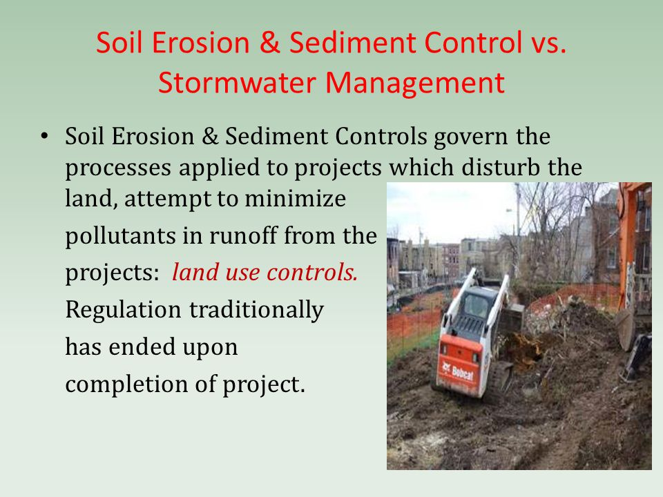 Water pollution storm water and wetlands tougher rules for Soil use and management