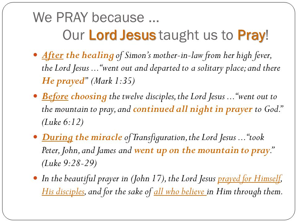 Lord Teach Us To Pray Luke 11 1 Ppt Video Online Download