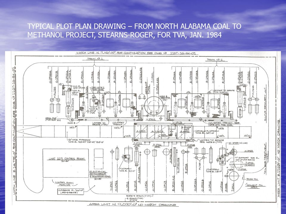 Project and study drawings diagrams ppt video online for Plot plan drawing