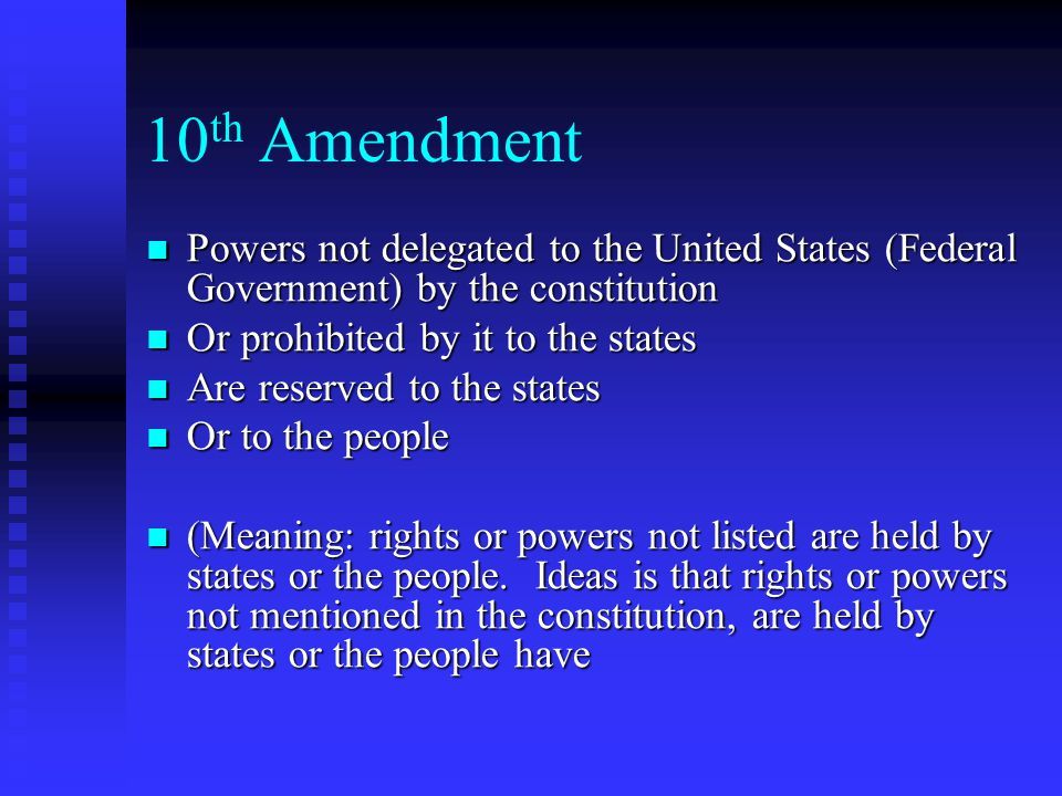 Rights Reserved To States Or People Madison Father of the ...