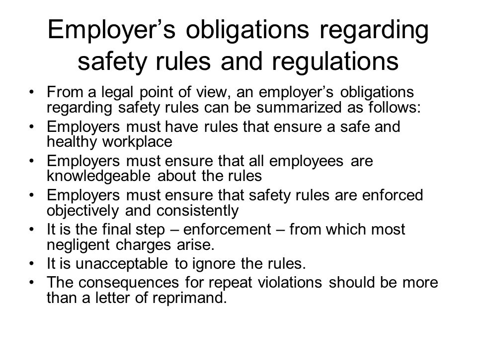 ensure safe workplace essay The health and safety of a workplace is established through different sources   this is done to ensure that companies follow the stipulated.