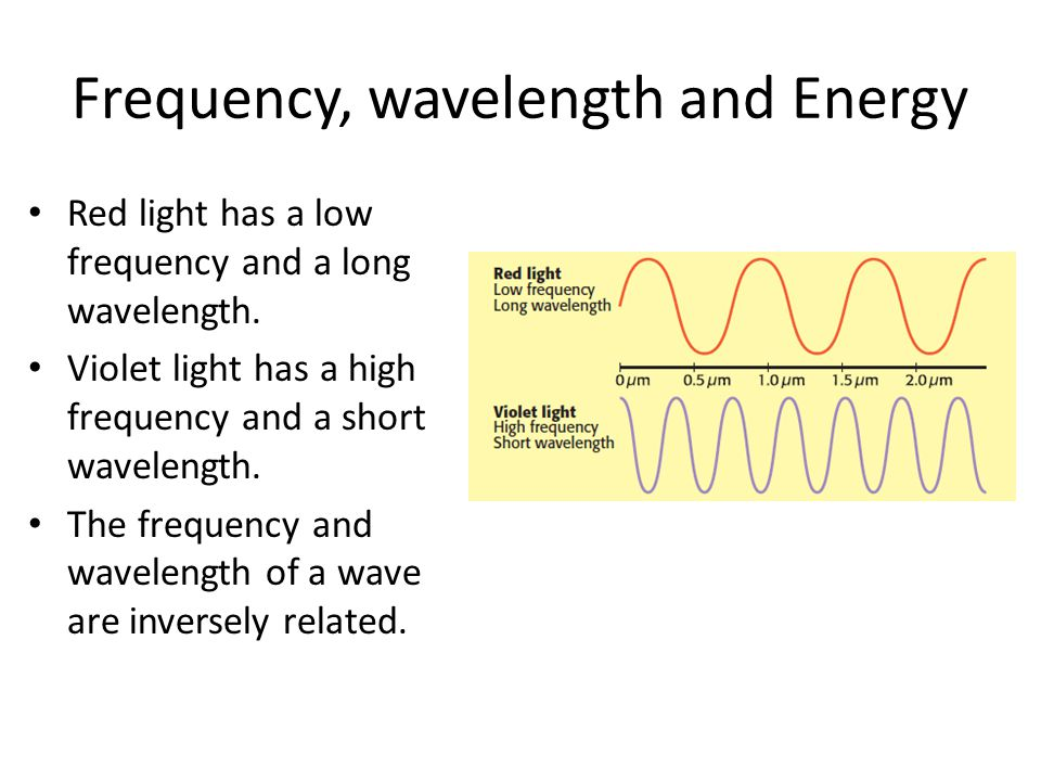 light and energy relationship