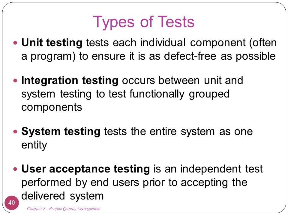 integration and system testing pdf