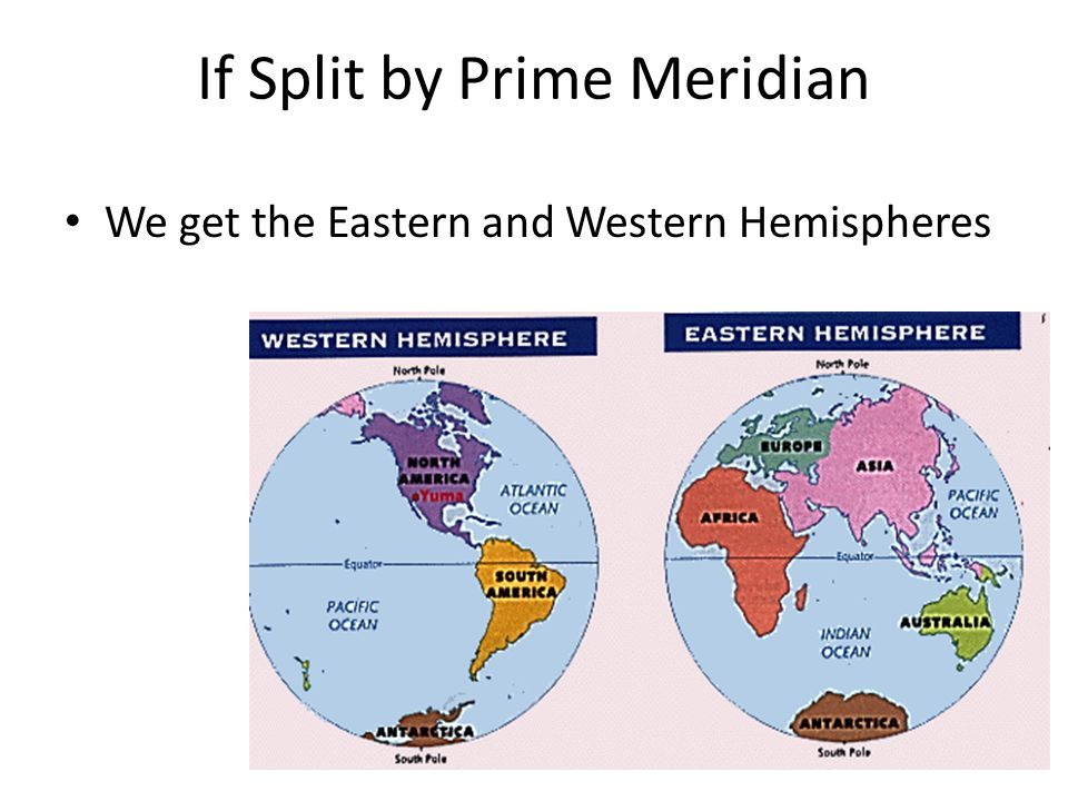 If Split by Prime Meridian