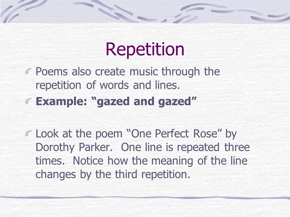 poem one perfect rose One perfect rose by dorothy parker commentsa single flowr he sent me since we met all tenderly his messenger he chose deephearted pure with scented dew still wet one perfect rose.