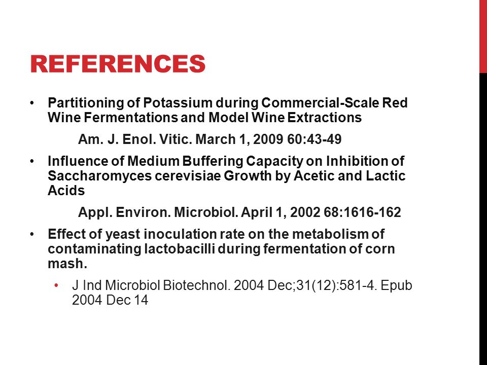 Bacterial Contamination in Ethanol Fermentation - ppt download