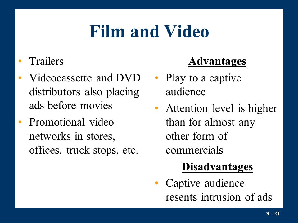 Film and Video Trailers