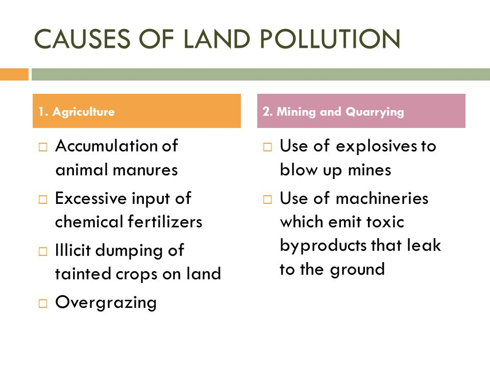 The gallery for overgrazing definition for Soil pollution definition