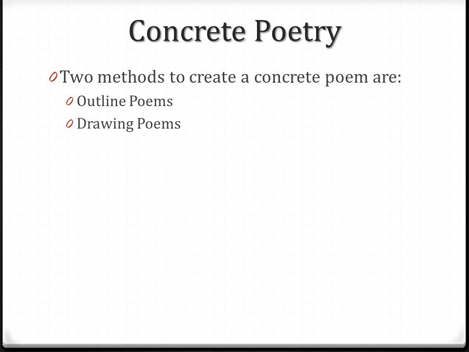 Create a concrete poem online dating - perks of dating a girl who likes anime