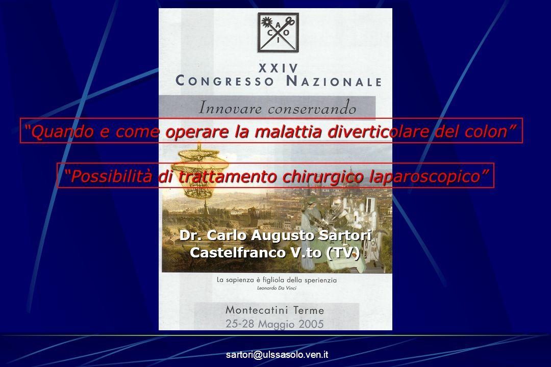 Dr. Carlo Augusto Sartori
