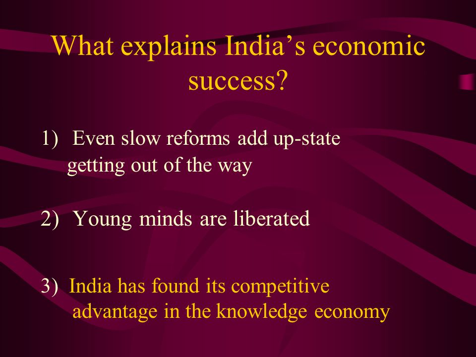 indias economic success India's economic success in recent years has helped to ensure that south asia is  the fastest-growing region in the world – but it faces significant.