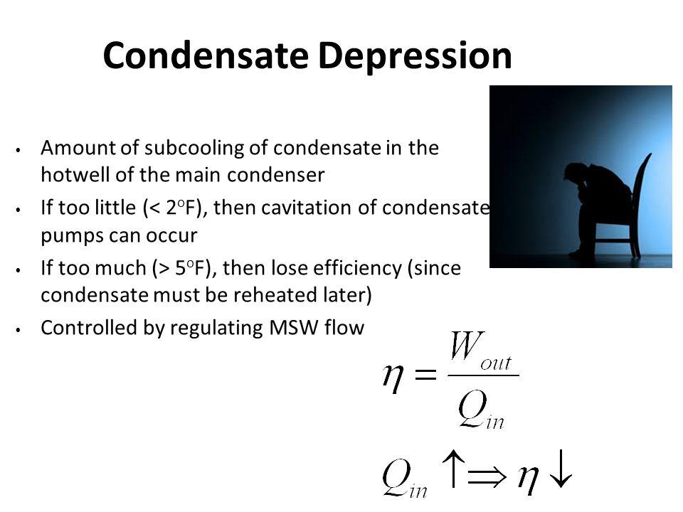 Condensate Depression