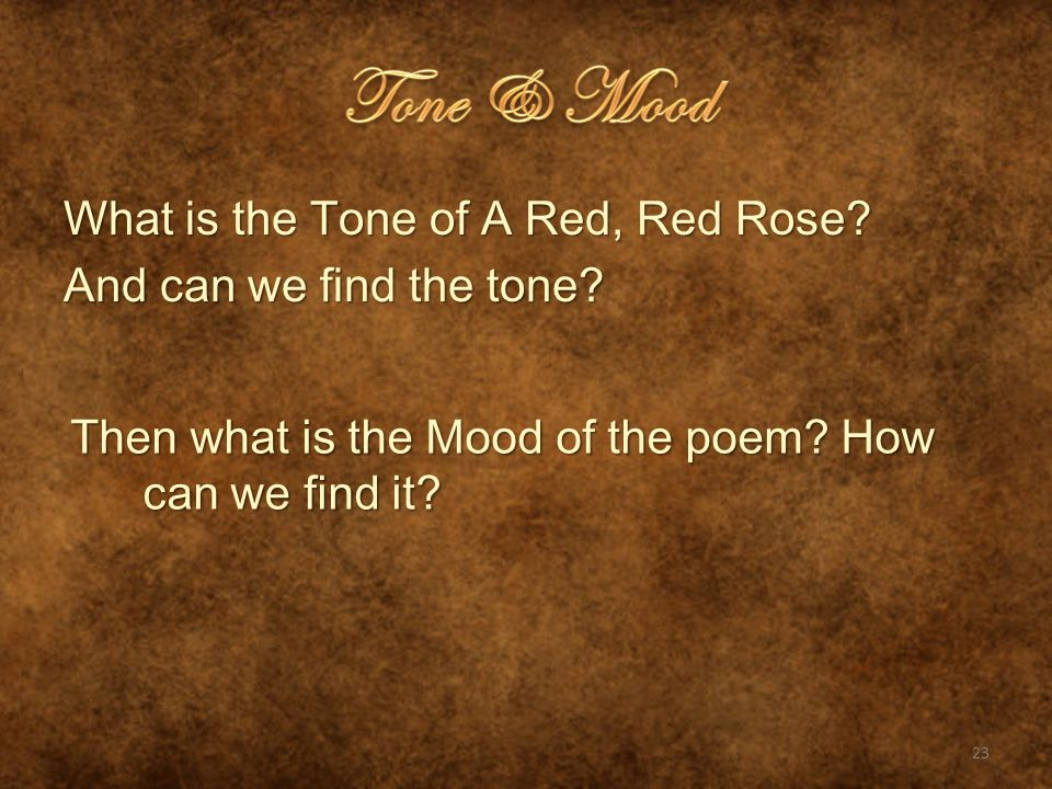 A Red Red Rose By Robert Burn Pg 530 Unit Ppt Video