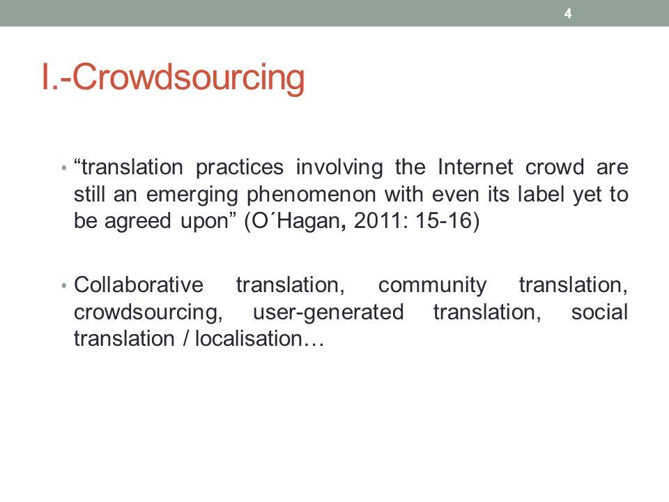 I.-Crowdsourcing