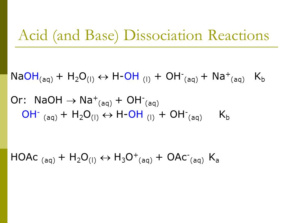 acid and base reactions pdf