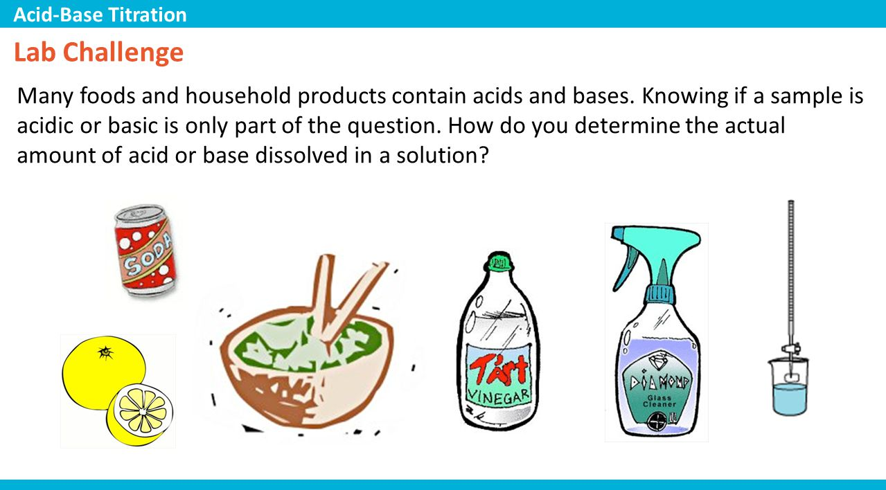 """an analysis of the appearance of bases and acids in everyday products O level chemistry – physical & chemical properties of secrets of """"acids, bases & salts and qualitative analysis o level chemistry – physical & chemical."""