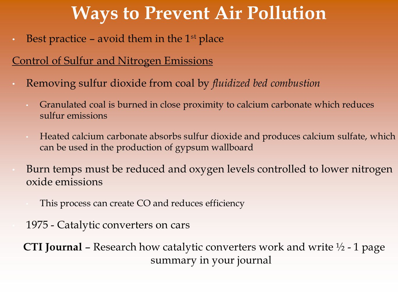 how can pollution be prevented How to prevent air pollution  today, consumers can choose from a non-polluting vehicle or one that produces zero emissions.