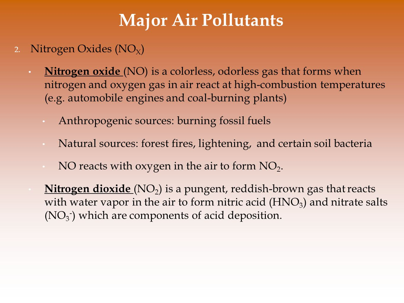 Air Pollution and Stratospheric Ozone Depletion - ppt video online ...