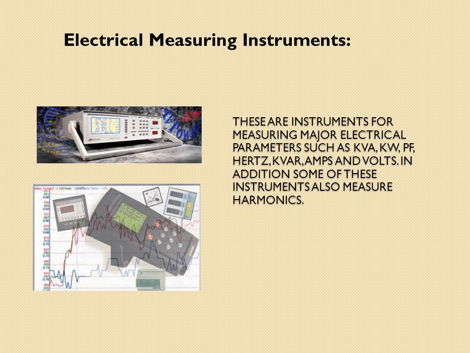 Electrical Measuring Instruments : Energy audit instrument ppt video online download
